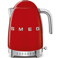Smeg KLF04RDUK Variable Temperature Kettle 1.7 L, Red