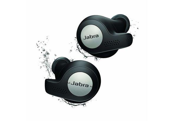 Jabra Elite Active 65t Alexa Enabled True Wireless Sports Earbuds, Titanium Black