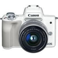 Canon Mirrorless Camera EOS M50 WH M15-45 S, White