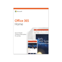 Office 365 Home 32/64 AllLngSub PKLic 1YR Online MidE DM C2R NR