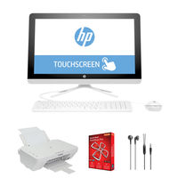 "HP 22-b042ne i3 4GB, 1TB 21.5"" All in One Desktop, White"