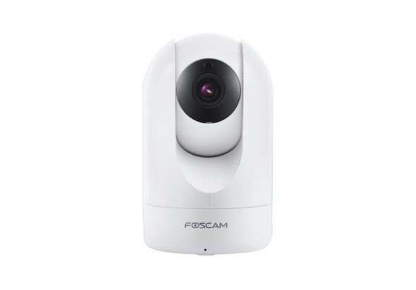 Foscam FIR4 Pan/Tilt Wireless Indoor IP Camera, White