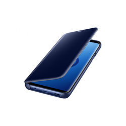 Samsung Galaxy S9 Clear View Stand Cover, Blue