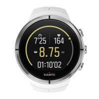 Suunto Spartan HR Watch, Ultra White