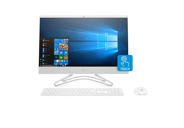 HP All-in-One i7-8700/8/1T/2D/23.8/W10, White