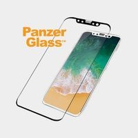 Panzerglass Case Friendly for iPhone X, Black Frame