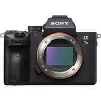 Sony 7 III with 35mm full-frame image sensor