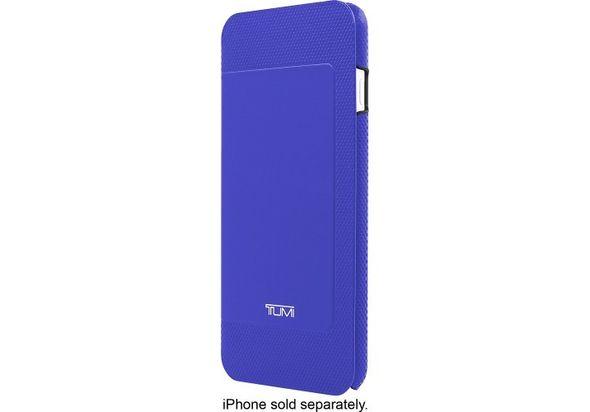 Tumi Folio Case for Apple iPhone 6 Plus and 6s Plus, Atlantic Blue