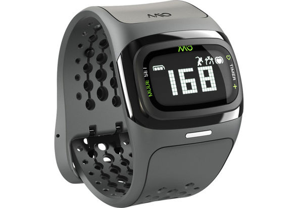Mio Global ALPHA 2 Heart Rate Sport Watch, Black Trim