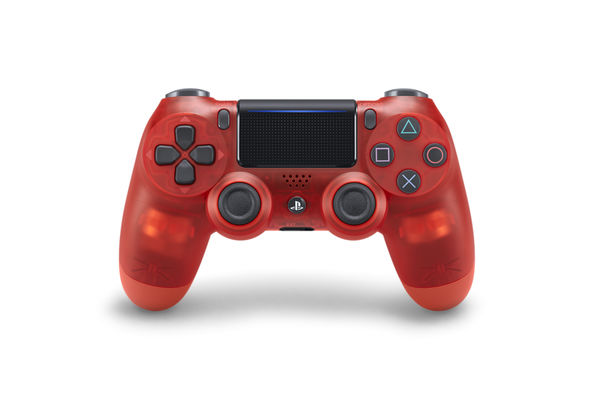 Sony PS4 DualShock 4 Wireless Controller (Red Translucent)