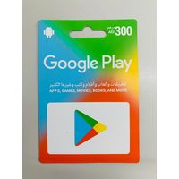 Google AED 300 Recharge Card for UAE