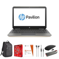 "HP 14-al107ne i7 16GB, 1TB 14"" Laptop, Gold"