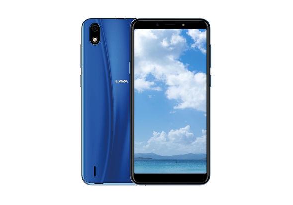 Lava V+ 6 Smartphone LTE,  Ocean Blue
