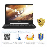"Asus TUF FX505DD R5 8GB, 512GB 3GB GeForce GTX 1050 Graphic 15"" Gaming Laptop"