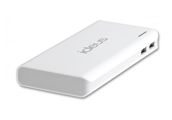 Ideus External battery 16000 mAh, White