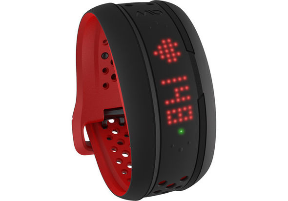 Mio Global FUSE Heart Rate Monitor and Activity Tracker Wristband Large, Crimson