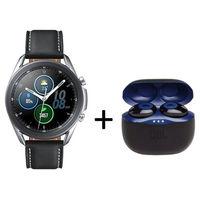 Samsung Galaxy Watch 3 Bluetooth 45mm with JBL Tune 120, Mystic Silver
