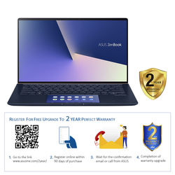 "Asus ZenBook 14 UX434FLC I7 16GB, 1TB 2GB Graphic 14"" Laptop"