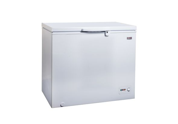 Supra SCF250CH3C Aluminium Interior Chest Freezer
