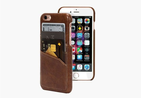 Cygnett urbanwallet slim case for iphone 6s & 6, Brown