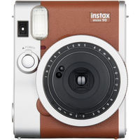 Fujifilm INSTAX Mini 90 Neo Classic Instant Camera, Brown
