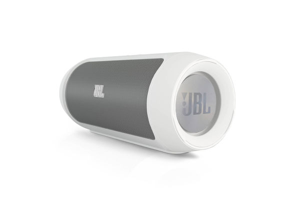 JBL Charge 2 Portable wireless stereo speaker, White