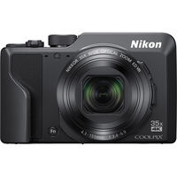 Nikon Coolpix A1000 Digital Camera, Black