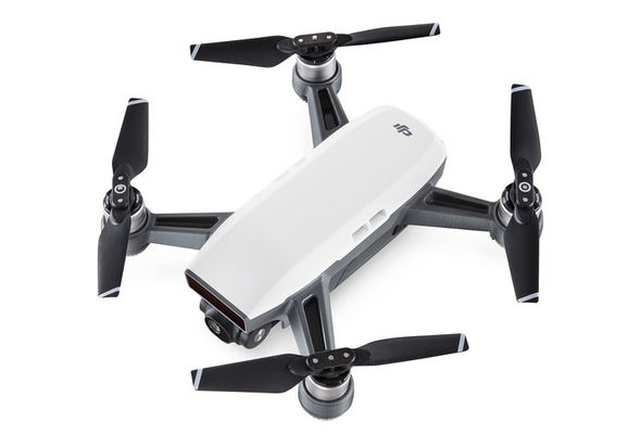 DJI Spark Fly More Combo Quadcopter, Alpine White