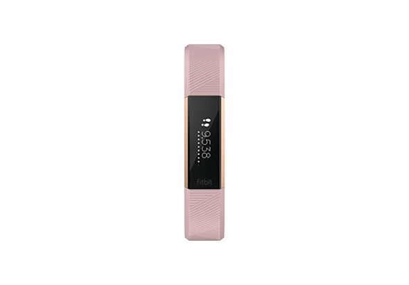 Fitbit Alta HR, Pink Rose Gold, Small