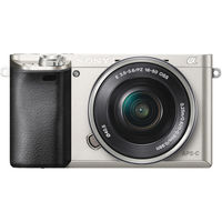 Sony Alpha a6000 Mirrorless Digital Camera, Silver