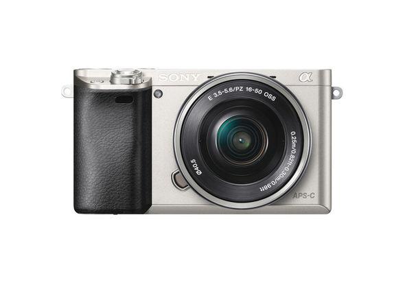 Sony Alpha a6000 Mirrorless Digital Camera, Silver