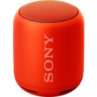 Sony XB10 Portable Bluetooth Speaker, Red