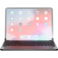 """Brydge Pro 11.0 Bluetooth Keyboard for 11"""" iPad Pro Late 2018 English and Arabic, Space Gray"""