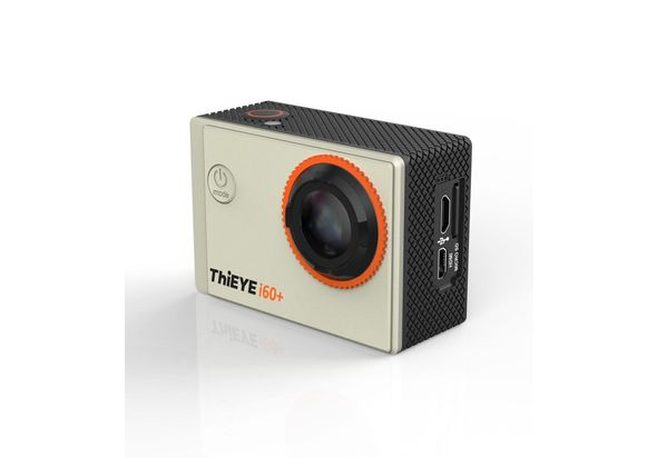 Thieye i60+ Action Camera with 4K Recording, Silver