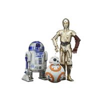 Kotobukiya Artfx Star Wars R2+ AC0-D2+ ACY- C+ AC0-3PO with BB+ AC0-8