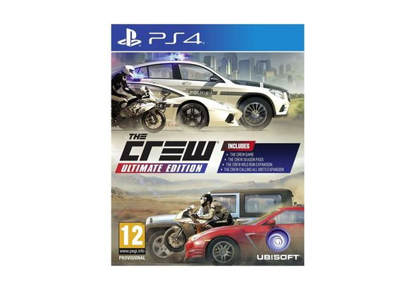 The Crew: Ultimate Edition for PS4