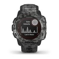 Garmin Instinct Outdoor GPS Watch, Graphite Camo