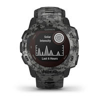 Garmin Instinct Outdoor GPS Watch, Graphite Camo