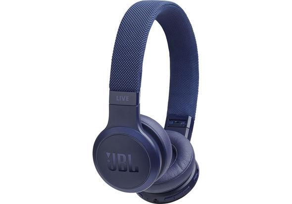 JBL Live 400BT Wireless Over Ear Headphones,  blue