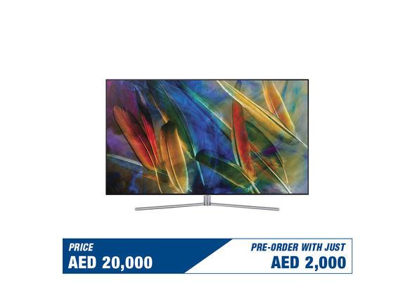 Pre Order Samsung 65  QA65Q7FAM Flat 4K Smart QLED Television