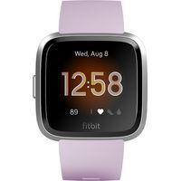 Fitbit Versa Lite Edition Smartwatch,  Lilac/Silver