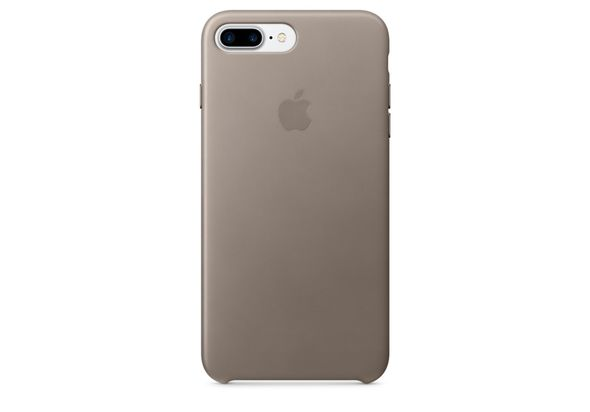Apple iPhone 7 Plus Leather Case, Taupe