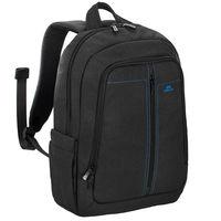 "Riva Case 7560 Laptop Canvas Backpack 15.6"" , Black"