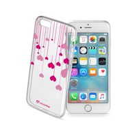 Cellularline STYLE Rubber Case For iPhone 6/6S, Heart