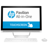 "HP Pavilion All-in-One 24-b202ne i7 8GB, 1TB 23.8"" Desktop, White"