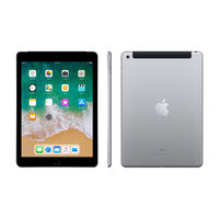 "Apple iPad 6th Gen Wi-Fi+ Cellular 32GB 9.7"" , Space Gray"