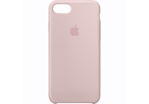Apple iPhone 7 Silicone Case, Pink Sand