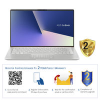 """Asus ZenBook 13 UX333FN i7 16GB, 1TB 2GB Graphic 13"""" Laptop, Icicle Silver"""