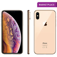 Apple iPhone XS Smartphone LTE with FaceTime,  Gold, 64 GB