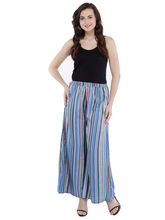 Pearly Women's Crepe Multi Printed Flaired Plazzo Pant (PP108), l, multicolor